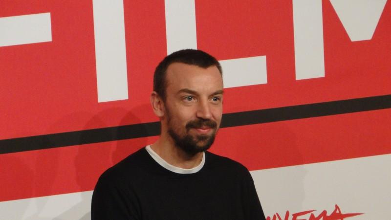 Roma 2013: il regista Alberto Fasulo sorride al photocall del film Tir