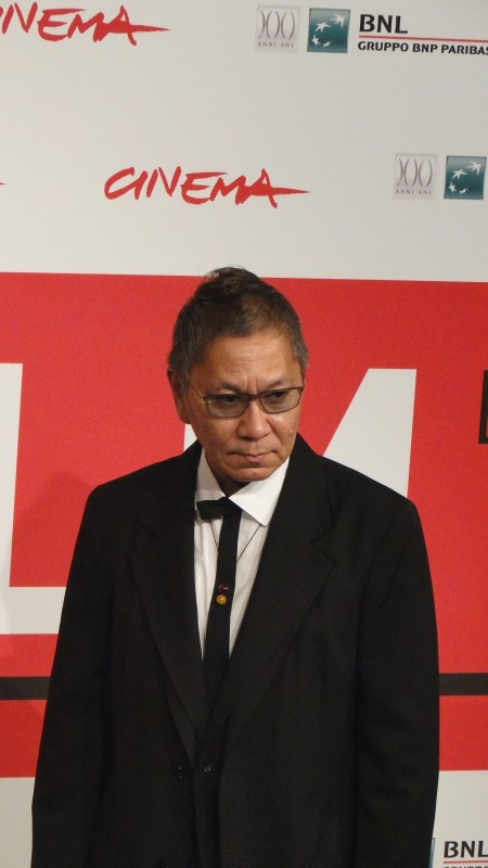 The Mole Song - Undercover Agent Reiji: il regista Takashi Miike posa al Festival di Roma 2013