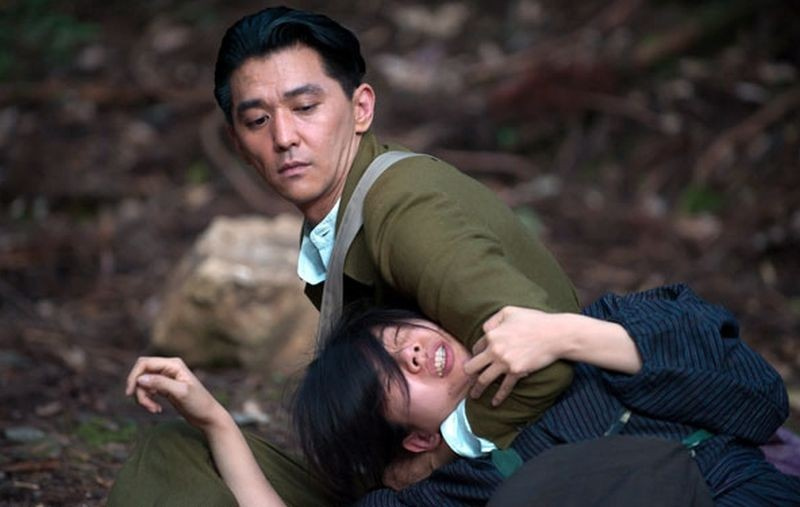 A Woman and War: Jun Murakami in una scena