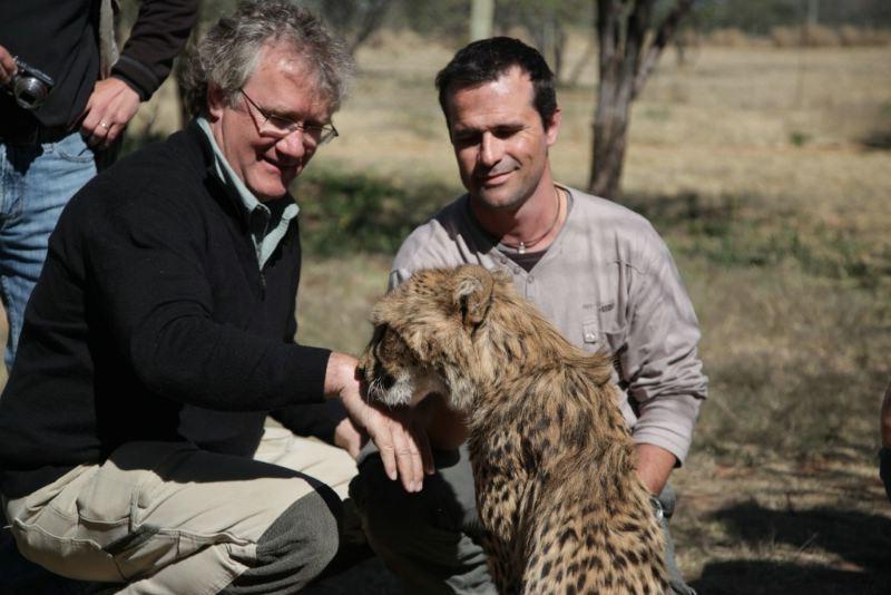 African Safari 3D: il regista Ben Stassen sul set del film
