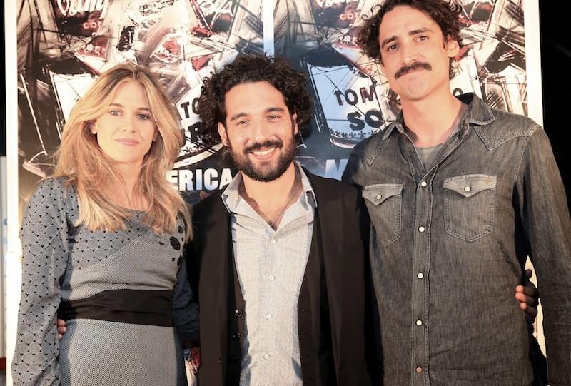 Anna Favella, Marco Cocci ed il regista Leonardo Ferrari Carissimi presentano Mr America