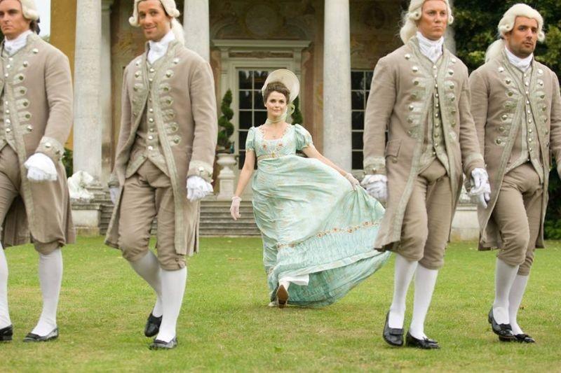 Austenland: Keri Russell è Jane Hayes in una scena del film