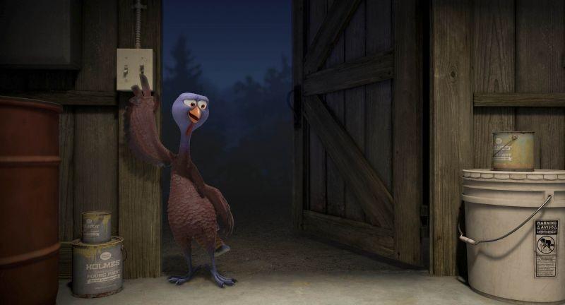 Free Birds: un'immagine del film d'animazione