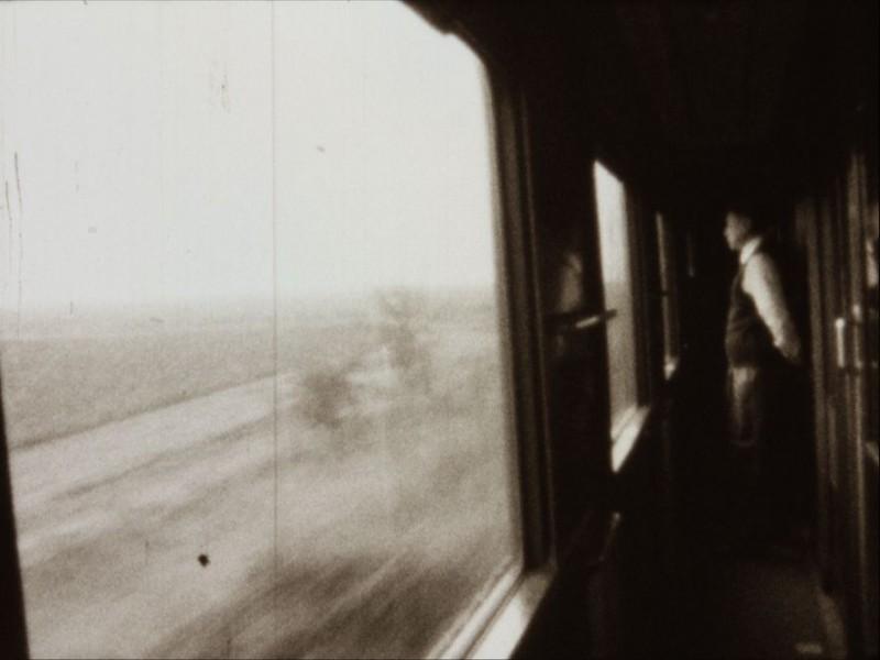 Il treno va a Mosca: una scena