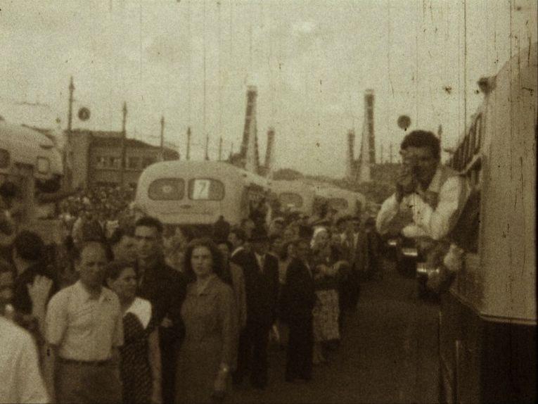 Il treno va a Mosca: una scena del film