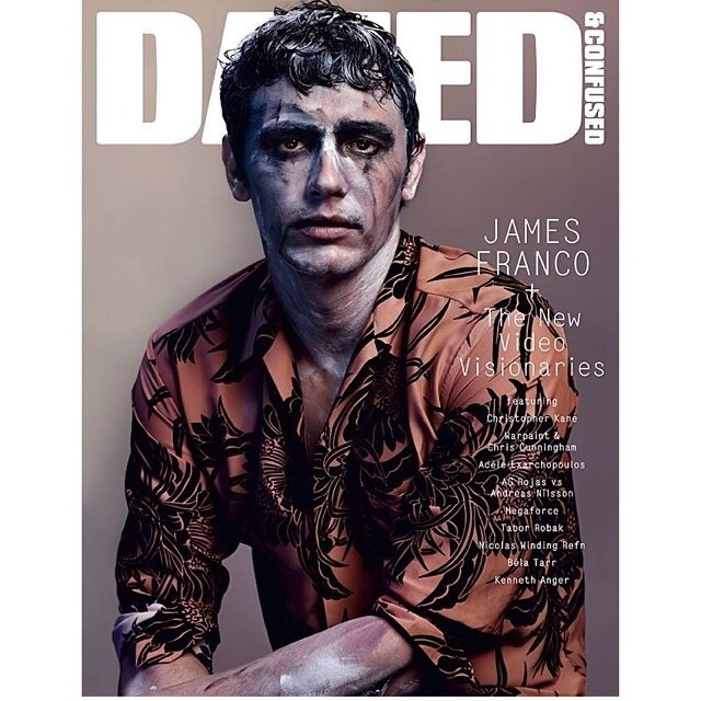 James Franco in cover su Dazed