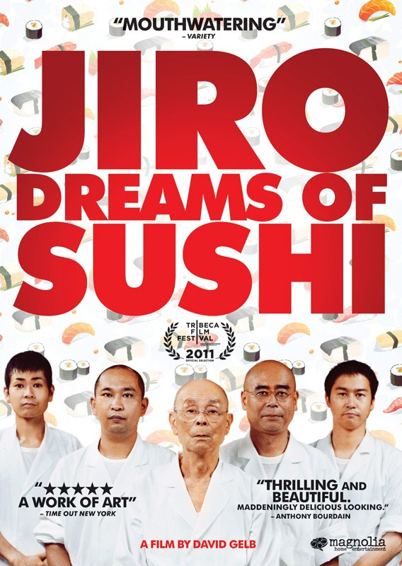 Jiro Dreams of Sushi: yuna locandina del film