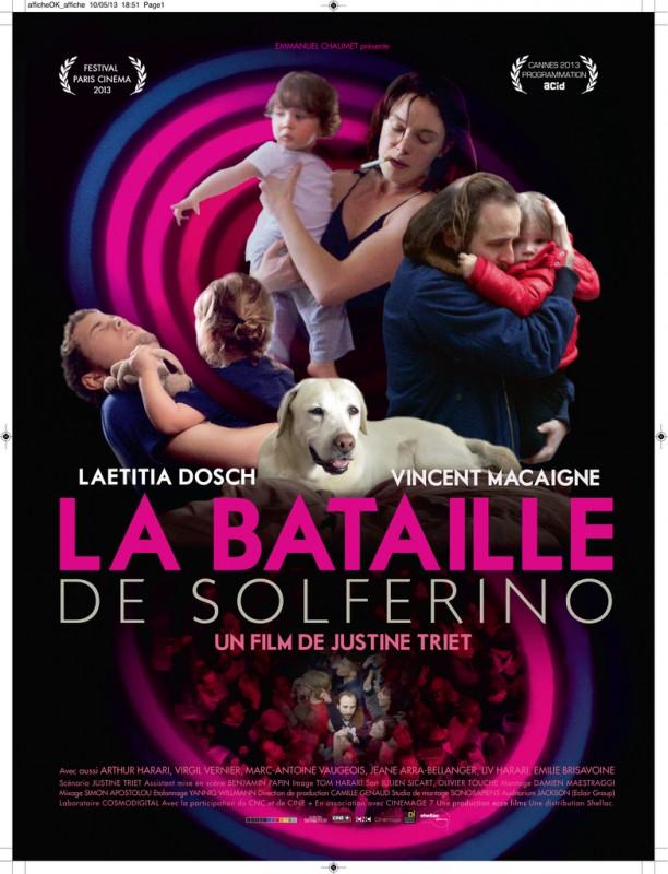 La bataille de Solférino: nuova locandina del film