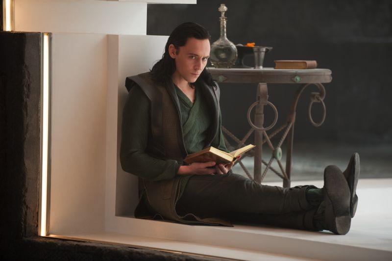 Thor: The Dark World, Tom Hiddleston nei panni di Loki in una scena