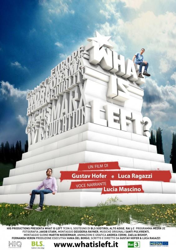 What is Left?: la locandina del film