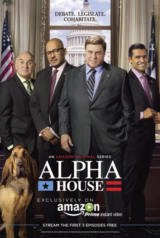Alpha House: un nuovo poster della serie Amazon