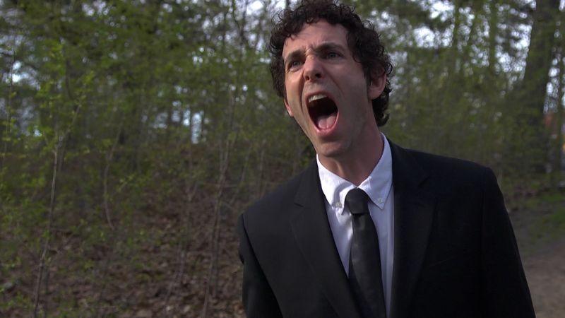 Blood Pressure: Jonas Chernick urla in una scena del film