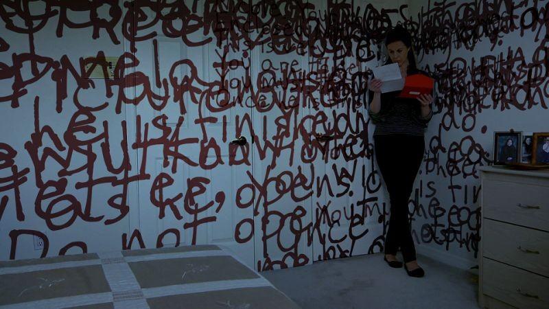 Blood Pressure: Michelle Giroux in una scena tratta dal film