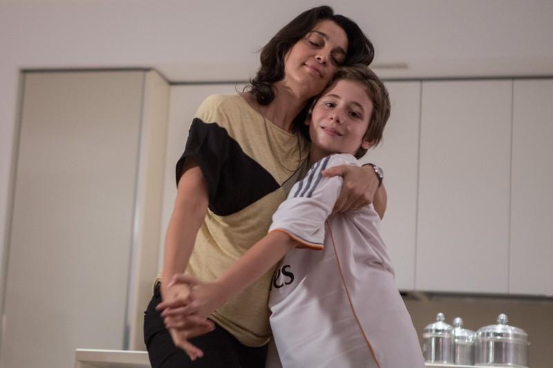 Il bambino cattivo: Donatella Finocchiaroo e Leonardo Della Bianca in una scena della fiction Rai
