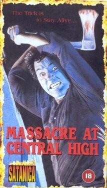 Massacro al central college: la locandina del film