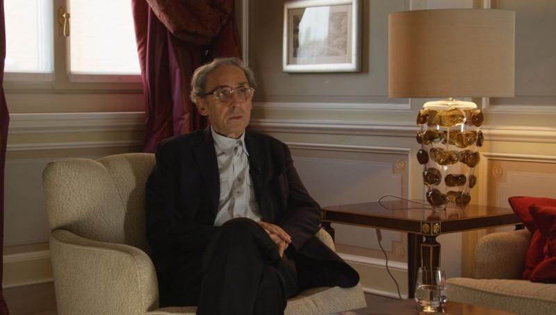 Temporary Road - (Una) vita di Franco Battiato: Franco Battiato in una scena del documentario