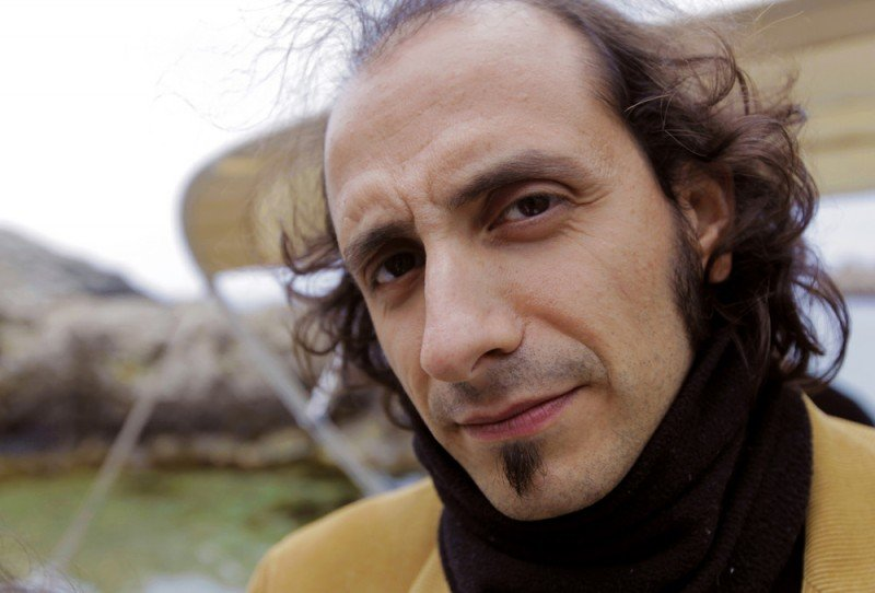 Temporary Road - (Una) vita di Franco Battiato: Mario Tani, uno dei due registi del film, in una foto promozionale