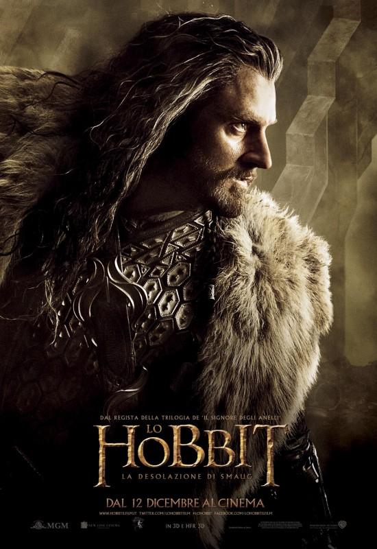 The Hobbit: la desolazione di Smaug - Il character poster italiano di Richard Armitage