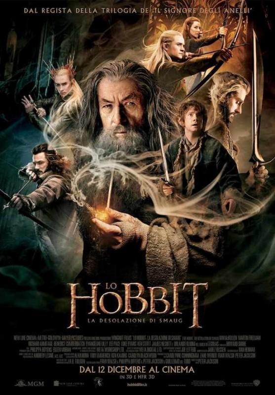 The Hobbit: la desolazione di Smaug: il poster italiano definitivo