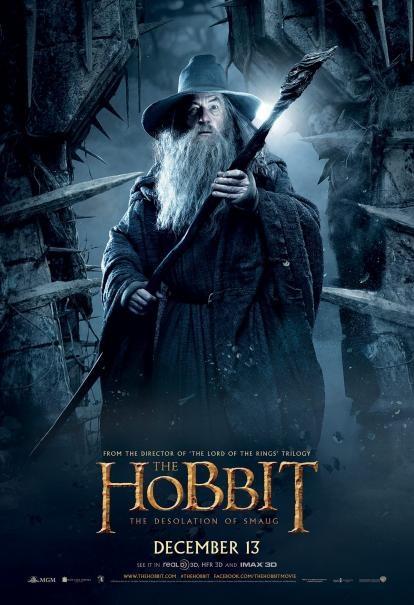 The Hobbit: la desolazione di Smaug - Un nuovo character poster di Ian McKellen