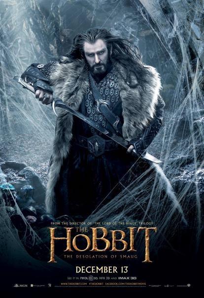 The Hobbit: la desolazione di Smaug - Un nuovo character poster di Richard Armitage