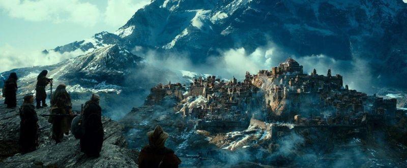 The Hobbit: La desolazione di Smaug, una scena panoramica del film