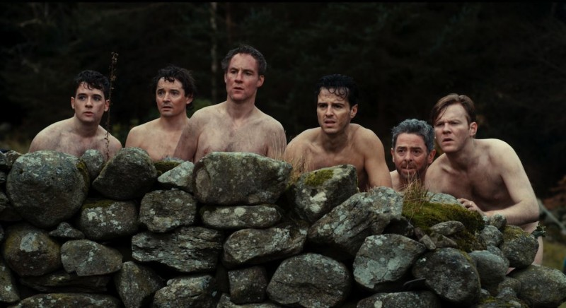 The stag: una goliardica scena tratta dalla commedia
