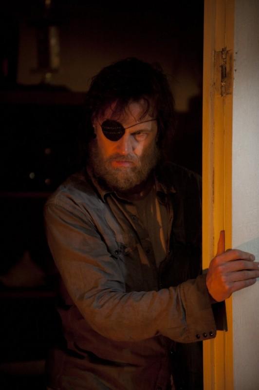 The Walking Dead: David Morrissey in una scena dell'episodio L'esca