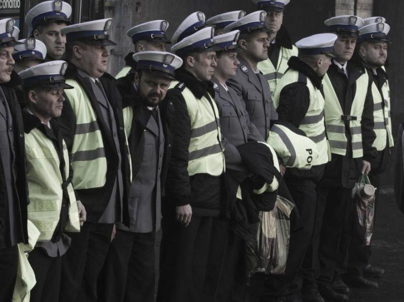 Traffic Department: una scena di gruppo del film
