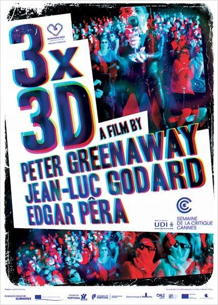 3x3D: la locandina del film