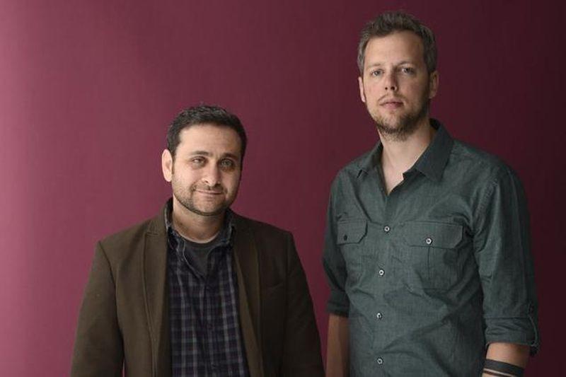Big Bad Wolves: i due registi del film Aharon Keshales e Navot Papushado in una foto promozionale