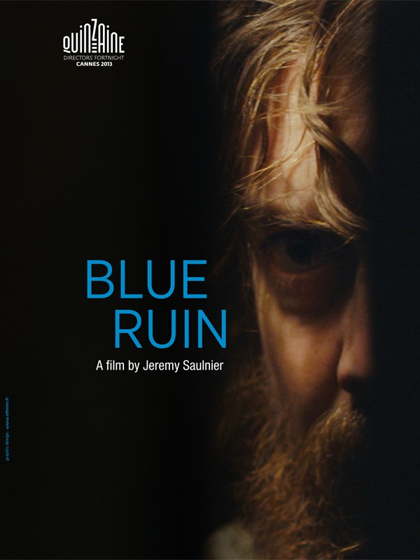 Blue Ruin: la locandina del film