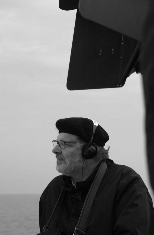 Carlo Mazzacurati in una foto promozionale in bianco e nero