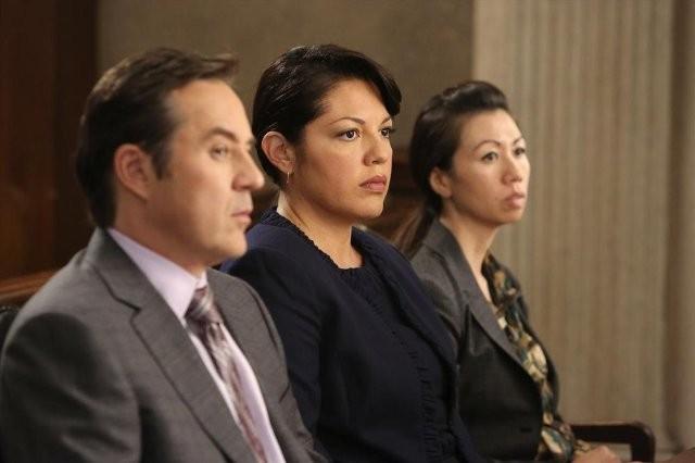 Grey's Anatomy: Currie Graham e Sara Ramirez nell'episodio Sorry Seems to Be the Hardest Word