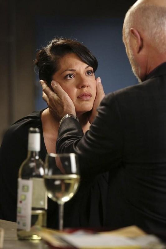 Grey's Anatomy: Hector Elizondo e Sara Ramirez nell'episodio Sorry Seems to Be the Hardest Word