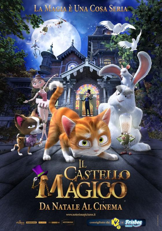 Il castello magico: la locandina italiana del film