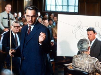 JFK: Kevin Costner in una sequenza del film di Oliver Stone