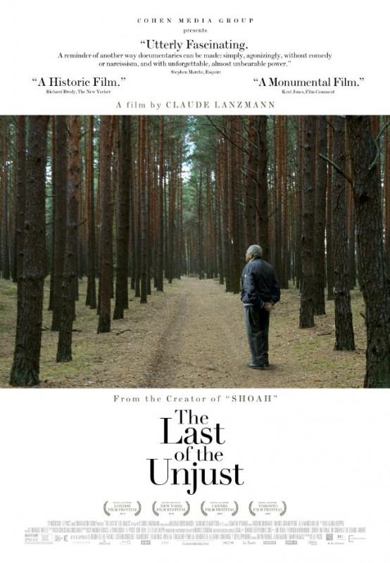 Le dernier des injustes: la locandina del film