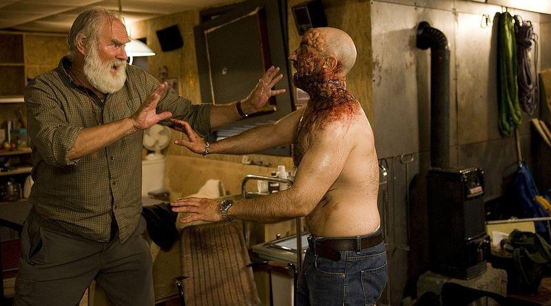 The Station: una terrificante scena del film