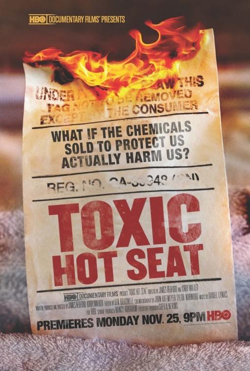 Toxic Hot Seat: la locandina del film