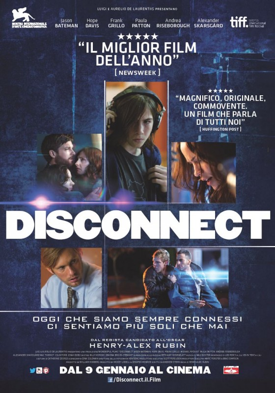 Disconnect: la locandina italiana
