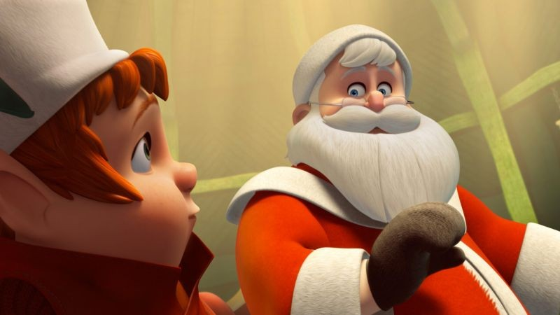 Il segreto di Babbo Natale: un momento del film animato