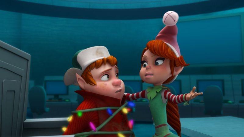 Il segreto di Babbo Natale: una divertente scena del film