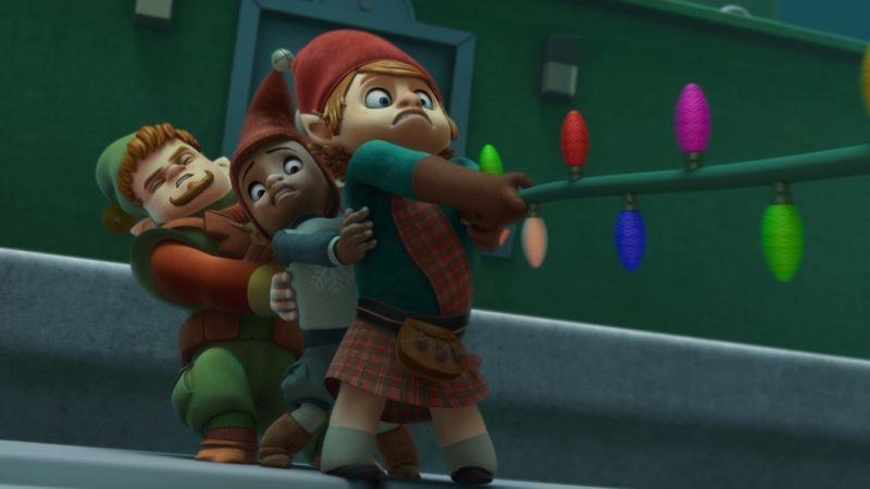 Il segreto di Babbo Natale: una colorata scena del film