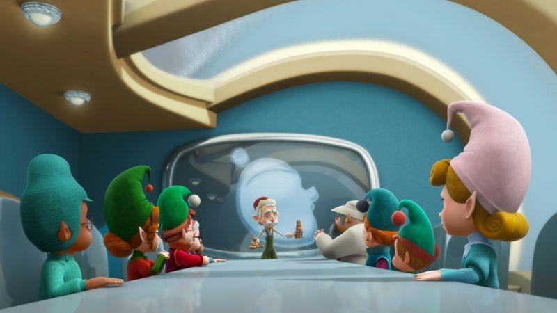 Il segreto di Babbo Natale: una colorata scena tratta dal film