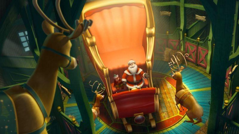Il segreto di Babbo Natale: una scena del film animato