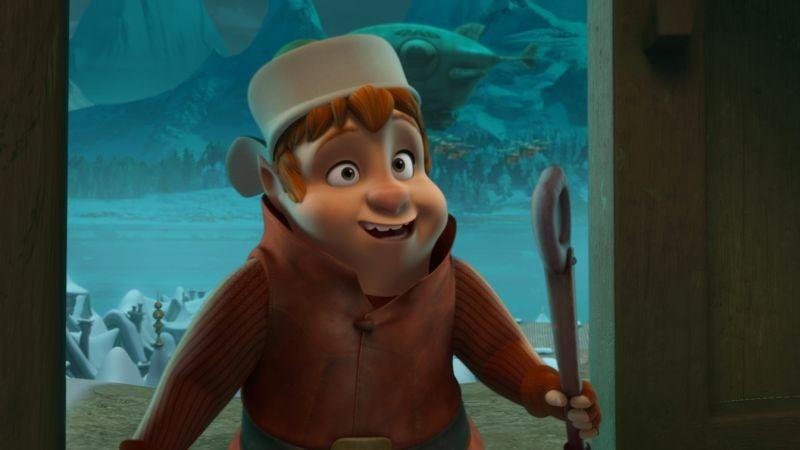 Il segreto di Babbo Natale: una scena tratta dal film animato