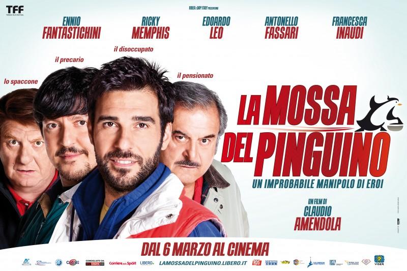 La mossa del pinguino: la locandina orizzontale del film