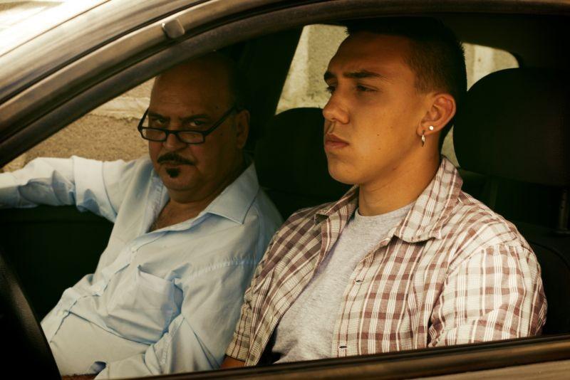 Roma Criminale: Claudio Fragasso in una scena del film