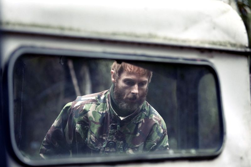 Sean Harris in una scena di Southcliffe